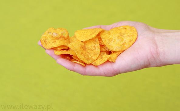 Chipsy o smaku papryki