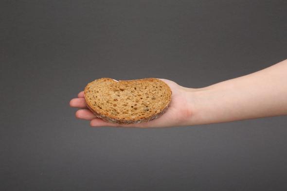 Chleb IG, o niskim indeksie glikemicznym, pszenno-żytni chleb wieloziarnisty