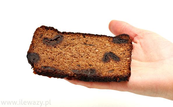 Chleb pełnoziarnisty ze śliwką