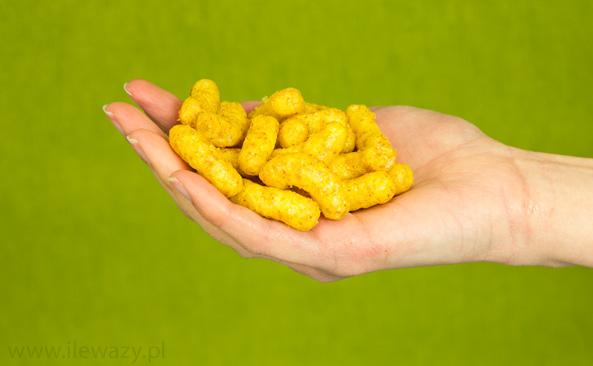 Chrupki kukurydziane z orzeszkami