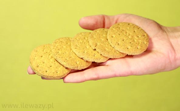 Kruche ciastka z mąką razową