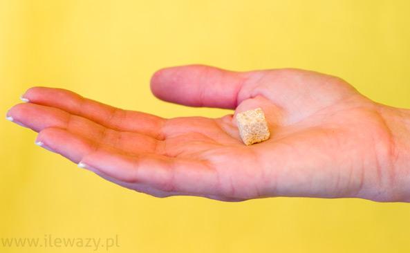 Mini kostki brązowego cukru