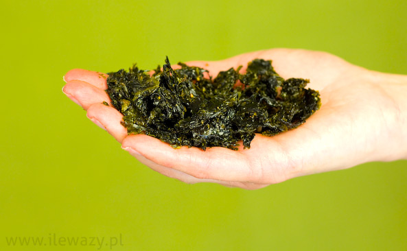 Chipsy z alg morskich