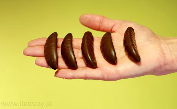 Galaretka o smaku cytrynowym w czekoladzie
