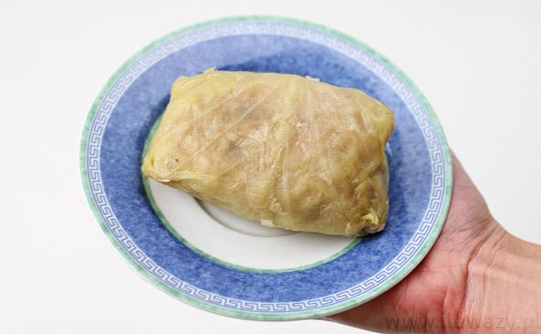 Gołąbki z ryżem i mięsem