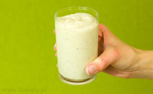 Jogurt chlebowy z miodem