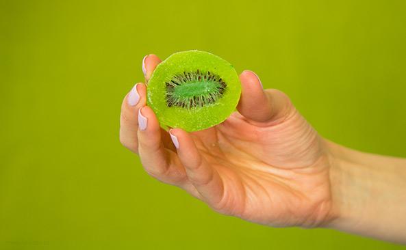 Ile waży Kiwi kandyzowane - sprawdź kalorie i wagę..