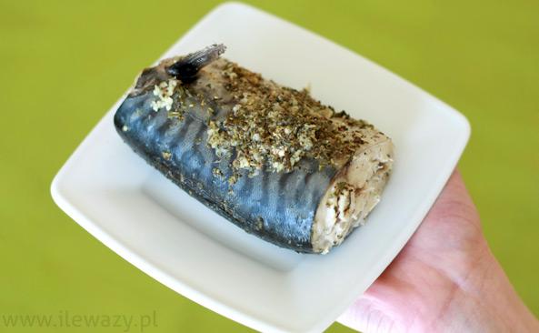 Makrela gotowana na parze