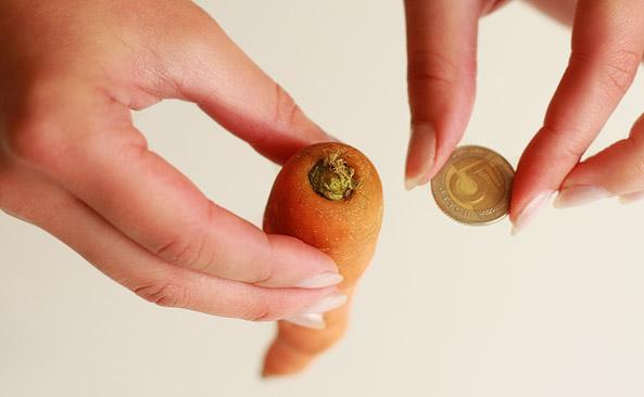 Ile waży Średnia marchew - sprawdź kalorie i wagę..