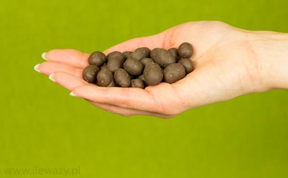 Morwa w surowej czekoladzie
