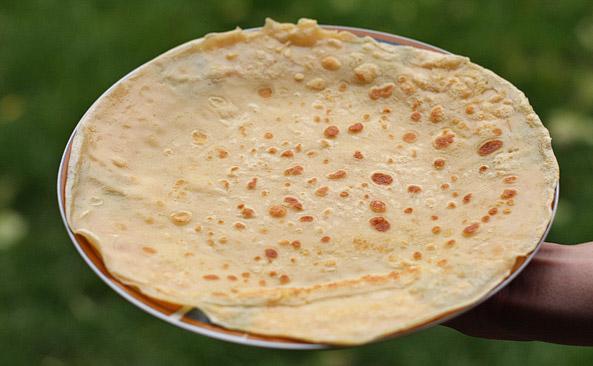 Naleśnik z mąki pszennej