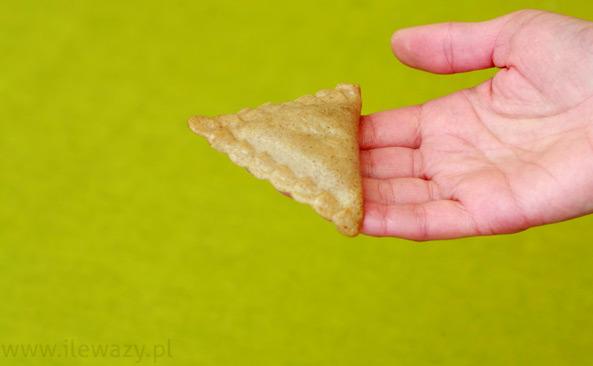 Pierogi razowe ze szpinakiem