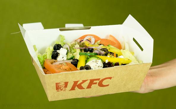 Ile Wazy Porcja Salatki Greckiej Kfc Sprawdz Kalorie I Wage