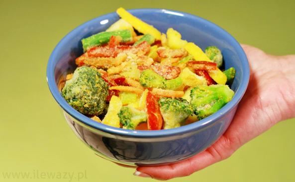 Warzywa mrożone karaibskie